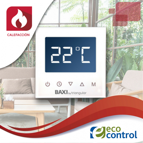 Termostato wifi fr o calor solidmation hpa 4413 for Baxi termostato ambiente