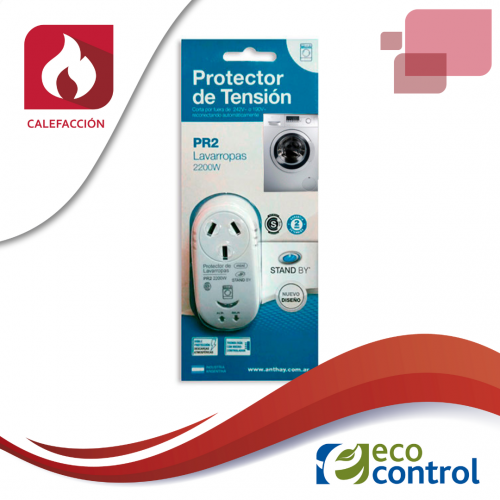 PROTECTOR ANTHAY DE TENSION PARA CALDERAS 220 W
