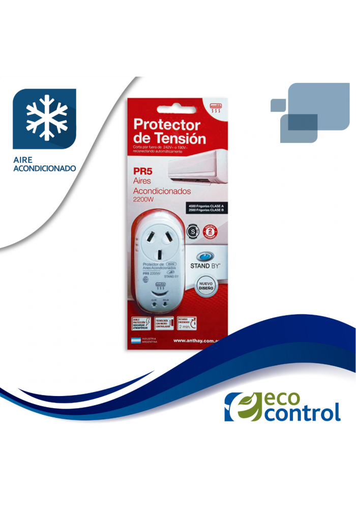 PROTECTOR ANTHAY DE TENSION PARA AIRE ACONDICIONADO